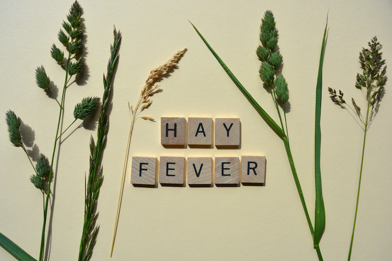 Hay fever and plants