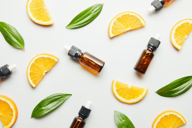 アロマ精油とレモンたち