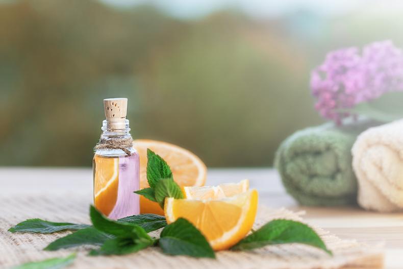 Orange sweet with aroma oil